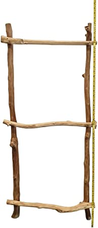 VIE - Escalera rústica Natural (100 cm): Amazon.es: Hogar