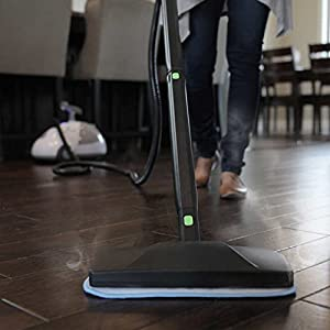 "Steamfast SF-275 Heavy-Duty Sanitizing Steam Cleaner with Wheels and Casters Dimensions:17.32"" L x 11.10"" W x 13.00"" H"