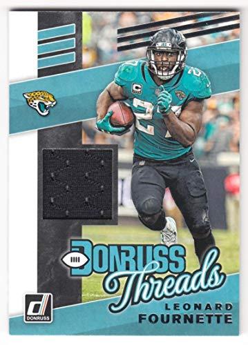 Leonard Fournette 2019 Donruss Donruss Threads JSY #20 NM-MT MEM Jaguars Football NFL from Donruss