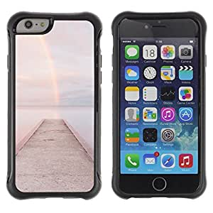 "Hypernova Defender Series TPU protection Cas Case Coque pour Apple Iphone 6 [Playa Embarcadero muelle de aguas""]"