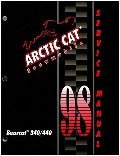 Download 2255-718 1998 Arctic Cat Bearcat 340 440 Snowmobile Service Manual pdf epub