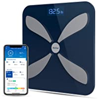 Wellue Smart Body Fat Scale-Digital BMI Scale for Body Weight, Fitness and Health Tracking, High Precision Wireless…
