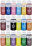Office Products : Artlicious - Acrylic Paint Set, Student Grade, 18 Piece (2-Ounce) Bottles, Great for Canvas Panels, Boards & Stretched Canvas …