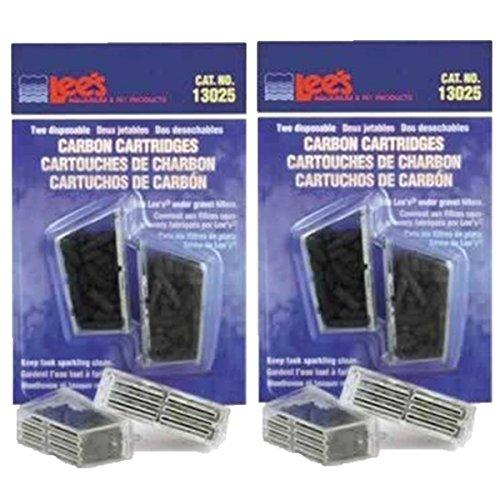 Lees Cartridge - Lee's Carbon Cartridge, Disposable, 2-Pack