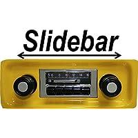 1967-1972 GMC Pickup Truck 300 watt Slidebar AM FM Car Stereo/Radio with iPod Docking Cable