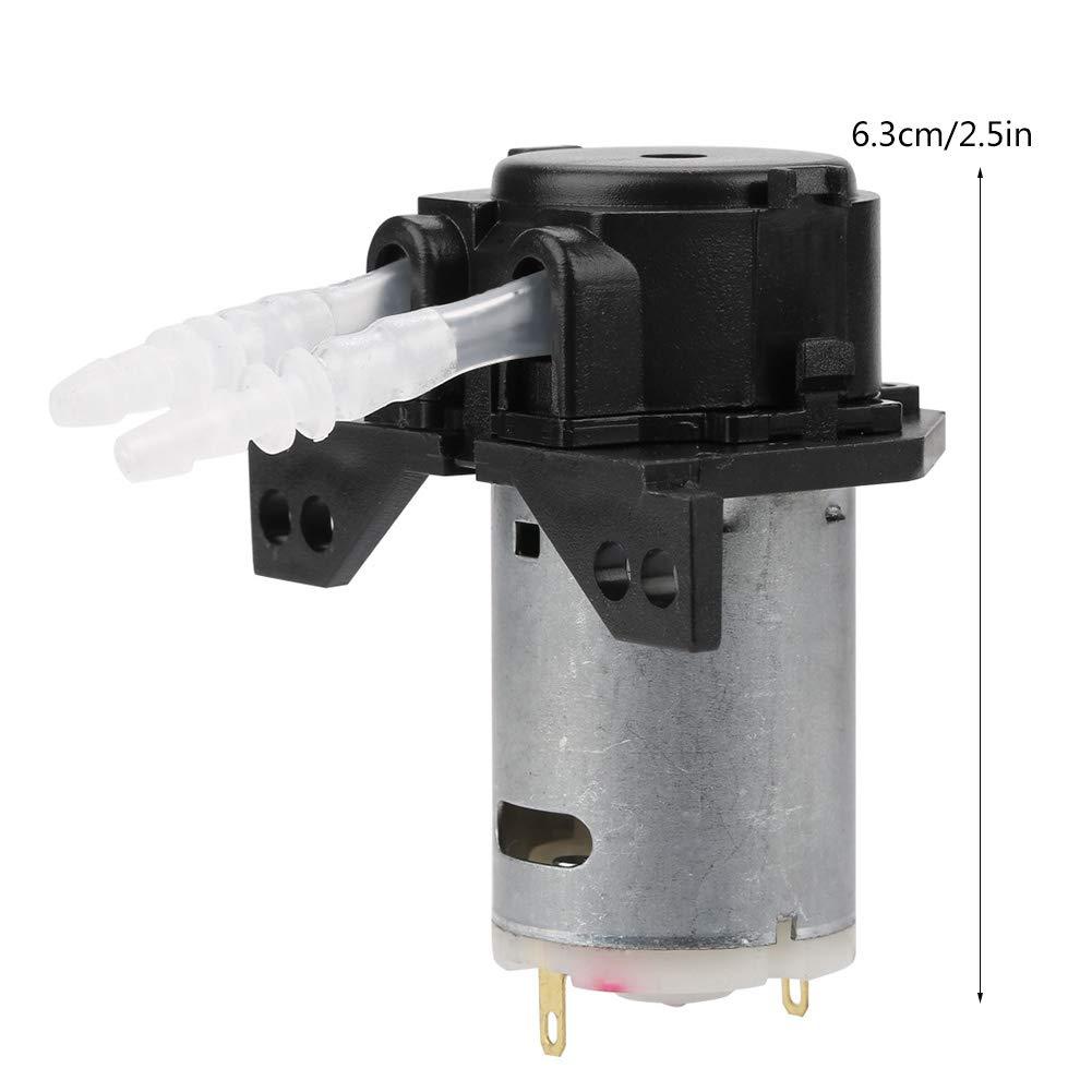 24V Testa peristaltica Fai-da-Te Testina per analisi Chimica Laboratorio Acquario Green 24v 3 * 5 Hilitand Pompa di dosaggio peristaltica DC 12V
