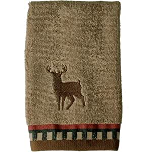 Better Homes And Gardens Deer Stripe Bath Collection Fingertip Towel Cell Phones