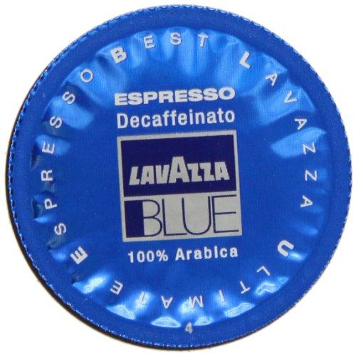 Lavazza BLUE Capsules, Espresso Decaffeinato Coffee Blend, Decaffeinated Medium Roast, 28.2-Ounce Boxes (Pack of 100) - Lavazza Blue Ground