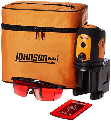 Johnson Level Tool 40-6680 Self-leveling Five beam Dot Laser
