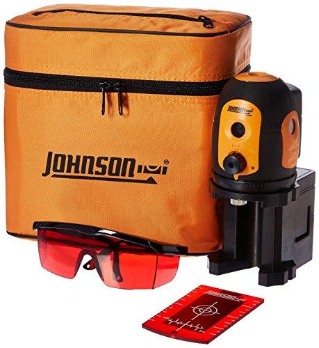 Level 5 Beam - Johnson 40-6680 Self-leveling Five beam Dot Laser