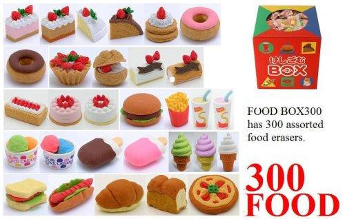 Amazoncom 300 Fast Food Desserts Japanese Eraser Box Toys Games