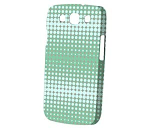 Case Fun Samsung Galaxy S3 (i9300) Case - Vogue Version - 3D Full Wrap - Long Wave in Mint Grey by Finch Five