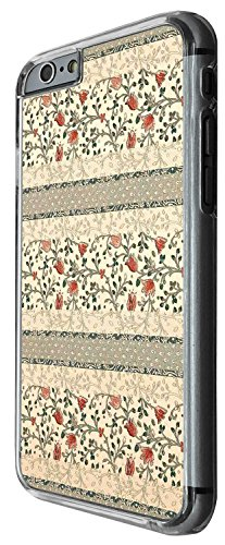 1378 - Cool Fun Trendy cute kwaii shabby chic wallapaer flowers Design iphone 6 6S 4.7'' Coque Fashion Trend Case Coque Protection Cover plastique et métal - Clear