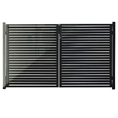 """Aluminum Slat Fence Gate (71"""" x 39"""")"""