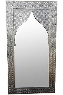 """Wandspiegel Dekoration Spiegel Orientalisch Flurspiegel Badspiegel /""""Bilal/"""" 80x56"""