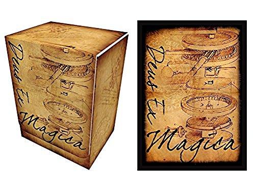 100 Deus Ex Magica Protectors & Deck Box Combo Set