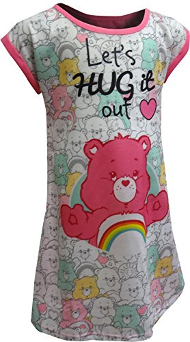 Care Bears Big Girls' Lets Hug It Out Nightgown, Pink, Small
