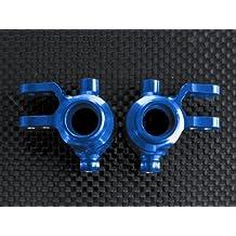 Traxxas Slash 4X4 & Stampede 4X4 VXL Upgrade Parts Aluminum Front Knuckle Arm - 1Pr Set Blue