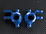 Traxxas Slash 4X4 Stampede 4X4 VXL Deegan 38 Fiesta ST Rally Upgrade Parts Aluminum Front Knuckle Arm - 1Pr Set Blue