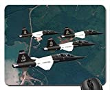 USAF T-38 Talon Trainers in Four Mouse Pad, Mousepad (10.2 x8.3 x 0.12 inches)