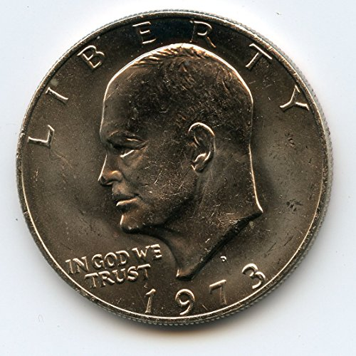 1973 D Eisenhower Dollar MS-65
