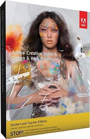 Adobe CS6 Design and Web Premium Student and Teacher Edition Mac