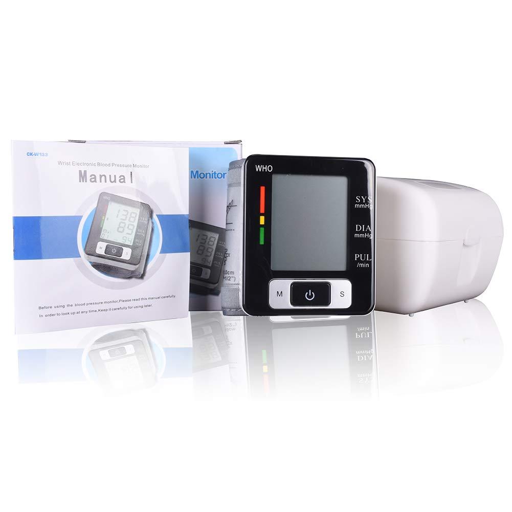 Tensiómetro de Brazo Digital, Validado Clínicamente Medida precisa, con Función de Memoria Automática, Apagado Automático Ahorro de Energía Dispositivo: ...