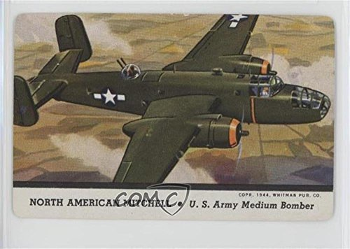 North American Mitchell (Trading Card) 1944 Leaf Card-O Aeroplanes - Mixed Series R112-12 Military Aircraft #NoN