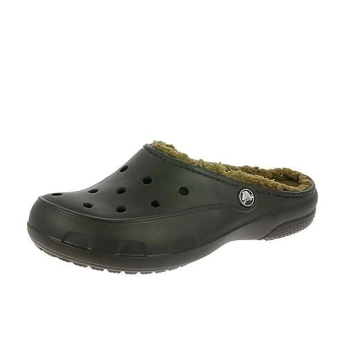 Crocs Freesail Felpa Forrado Espresso De Zapatillas Zuecos: Amazon.es: Zapatos y complementos