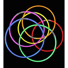 "50 20"" Lumistick Glowstick Necklaces Assorted Colors"
