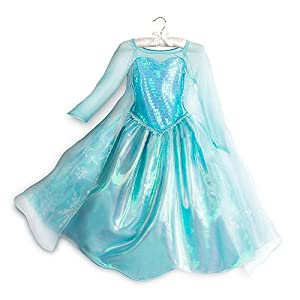Disney Kids Elsa Costume - 51nC 2B14bXwL - Disney Kids Frozen Elsa Costume