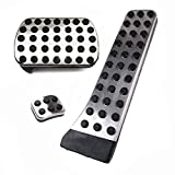 Stainless Steel Car Sport Pedal Pads Fuel Brake Foot Pedals for Mercedes Benz C E S GLK SLK CLS SL Class