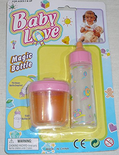 Baby Love Magic Milk Bottle and Juice Sippy-Cup