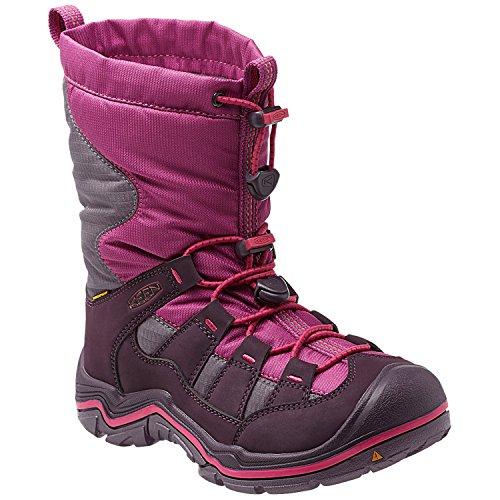 Keen Unisex-Kinder Winterport II WP Trekking-& Wanderstiefel purple wine/very ber