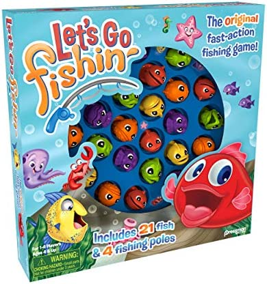 toys, games, games, accessories,  board games 3 on sale Let's Go Fishin' Game by Pressman - The promotion