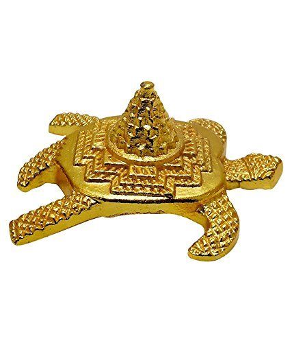 SiddratanFeng Shui Metal Turtle With Laxmi Yantra Tortoise For Good Wealth Prime Oversease