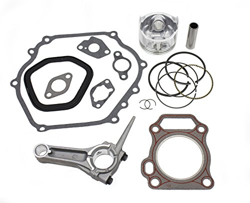 New Piston Kit With Connecting Rod and Full Gasket Set Fits Honda GX240 Engines
