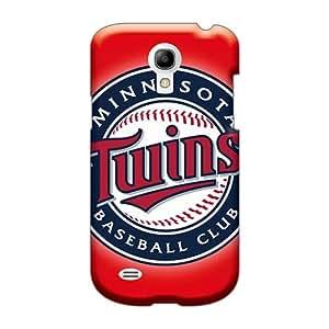WandaDicks Samsung Galaxy S4 Mini High Quality Hard Phone Case Support Personal Customs Stylish Minnesota Twins Series [Wah29896CizQ]