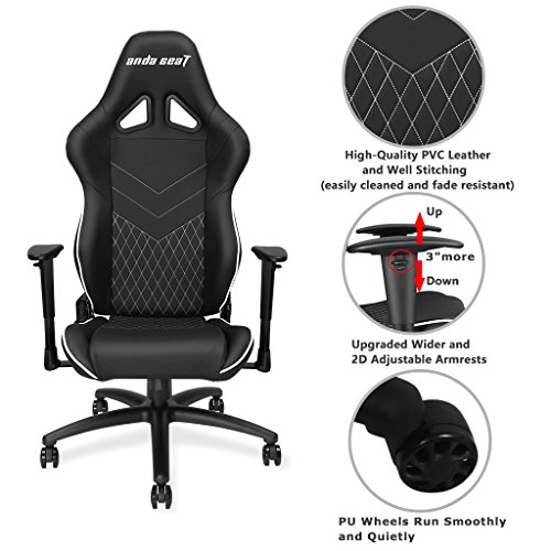 Anda Seat Assassin Series High Back Gaming Chair Recliner