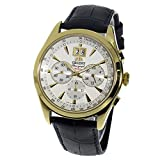 Orient Men's Made in Japan Quartz 10BAR Analog Chronograph Date Watch