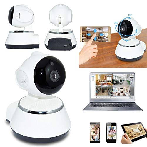 : Legros8 Wireless Camera WiFi Network Monitor Mobile Smart Remote Infrared Night Vision Security