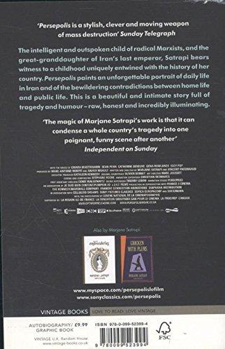 Persepolis Satrapi Marjane 9780099523994 Amazon Com Books
