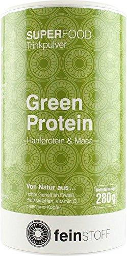 Feinstoff Green Protein Shake (1x 280g) (bio, vegan, glutenfrei, roh)