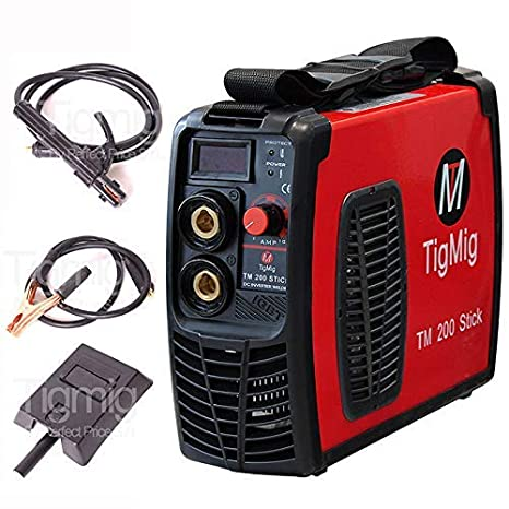 Welding electrodo 200 Amp Inverter Inverter tigmig TM 200 Stick: Amazon.es: Grandes electrodomésticos