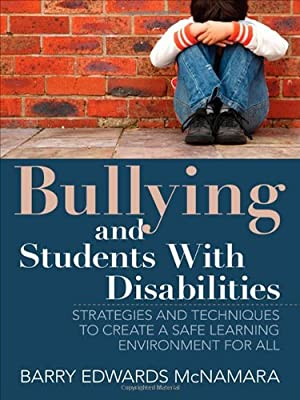 Bullying And Students With Disabilities >> Bullying And Students With Disabilities Strategies And Techniques