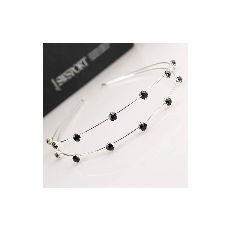 Gold Silver Metal Star Headband For Women Sweet Wedding Hair Accessories,1303-B