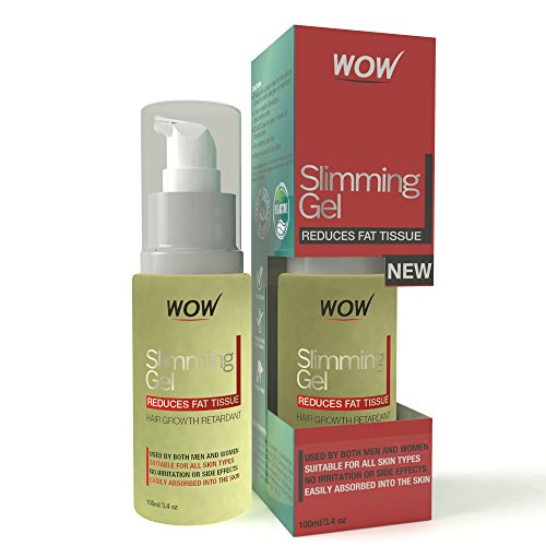 Slimming Gel By WOW – 100% Pure, Natural Synthesis Containing Essential Oils & Himalayan Spring Water Minerals – Suitable For All Skin Types – Aids Weight Loss & Strengthens Skin's Surface – Pack Of 1