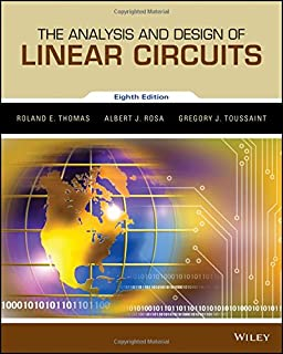 The analysis and design of linear circuits roland e thomas albert the analysis and design of linear circuits binder ready version fandeluxe Gallery