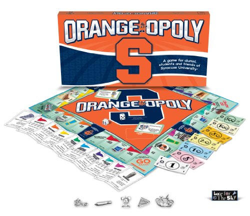 Orange-opoly, Syracuse University (University Syracuse Players)