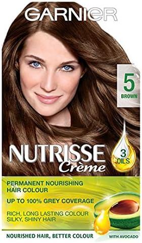 Garnier Nutrisse crema 5 marrón: Amazon.es: Salud y cuidado ...
